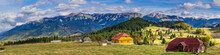Bucegi Mountains Seen From Fun...