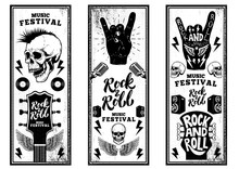 Rock And Roll Party Flyers Tem...