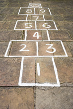 Hopscotch Children's Game Outs...