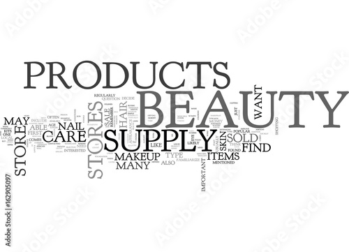WHAT BEAUTY PRODUCTS YOU MAY FIND IN A BEAUTY SUPPLY STORE