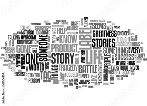 Fotografie, Obraz  WHAT DOES YOUR LABEL SAY TEXT WORD CLOUD CONCEPT