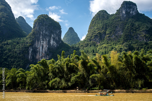 Foto op Canvas Guilin Cruise from Guilin to Yangshuo