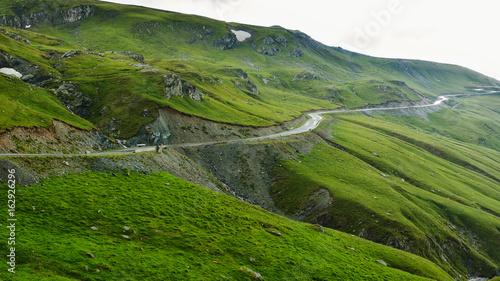 Foto op Aluminium Scandinavië The Carpathian Mountains seen from Transalpina