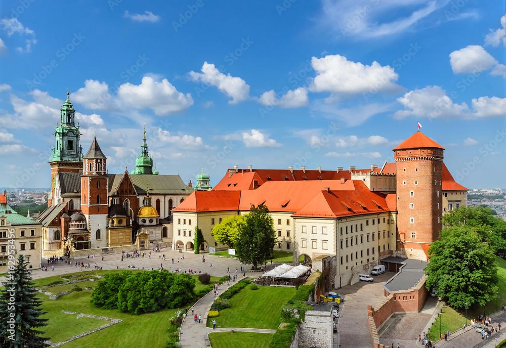Fototapety, obrazy: Krakow - Wawel castle at day. Poland Europe.