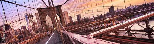 Fototapeten New York Brooklyn Bridge in New York City