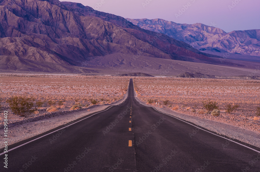 Photographie  Death Valley Road