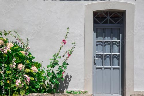 Valokuva  façade de maison vendéenne