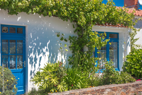 façade de maison vendéenne Slika na platnu