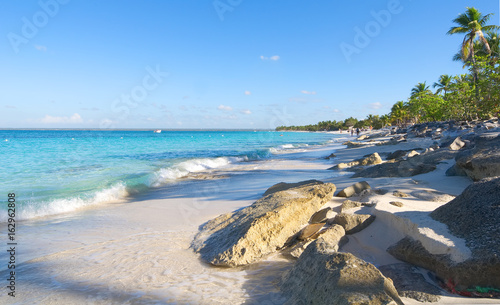 Fotografie, Obraz  Catalina island - Playa de la isla Catalina - Caribbean tropical beach and sea