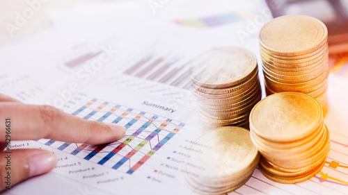 Fotografía  Concept of currency trading