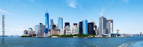 Foto op Aluminium New York Panorama New York City Manhattan Skyline and Freedom Tower