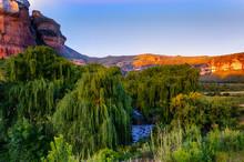 South Africa Drakensberge Gol...