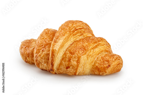 Photo Fresh Croissant Isolated on white background