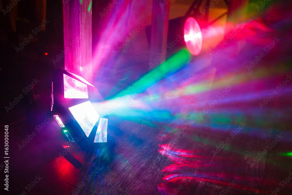 Fototapety, obrazy: concert light show, Stage lights