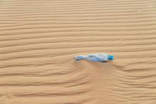 Empty Plastic Water Bottle On ...