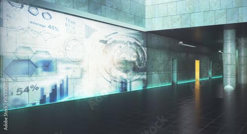 Photo  Interface concept