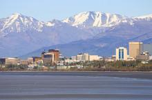 Anchorage Downtown Skyline