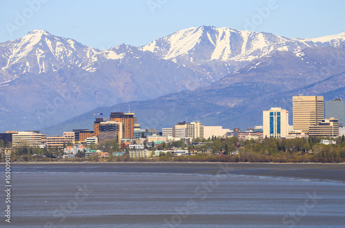 Photo Anchorage Downtown Skyline