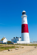 Portland Bill Lighthouse On Po...