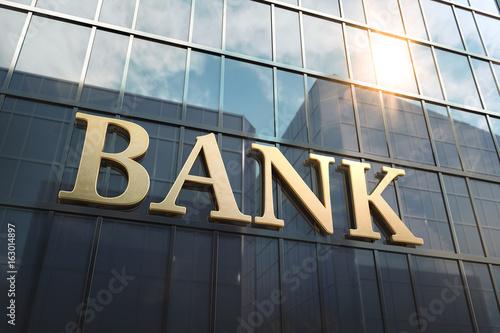 Fotografía  Bankgebäude Hochhaus