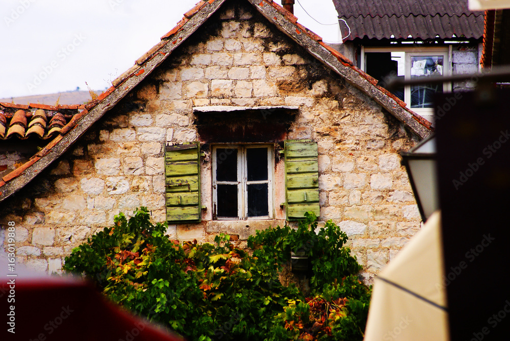 Fototapety, obrazy: Bajkowe okno, Trogir, Chorwacja