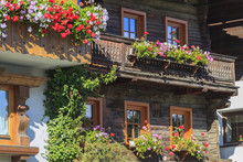 Balcony With Flower Boxes