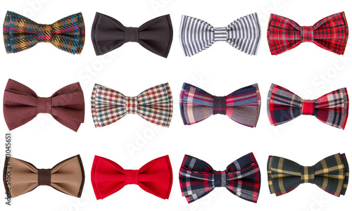 Fotografia  bow tie isolated