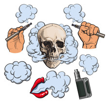 Vaping Related Elements, Symbo...