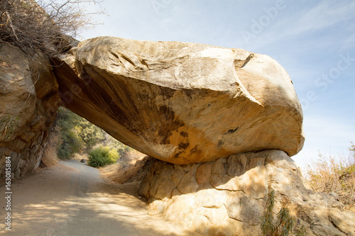 Poster Parc Naturel Tunnel Rock at Sequoia National Park