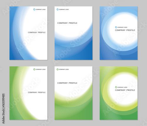 Fotografía  Company Profile Cover Design / A4 Template