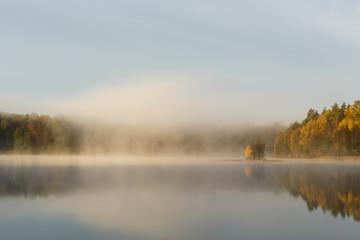 Autumn Lake./ Kashubia,Poland
