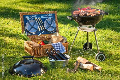 Aluminium Prints Grill / Barbecue Barbecue picnic