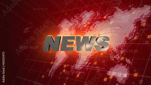 News opening graphics world map red background buy this stock news opening graphics world map red background gumiabroncs Images