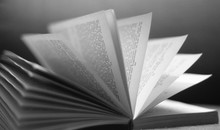 Open Book Pages