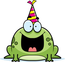 Cartoon Frog Birthday Party