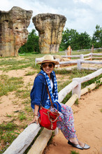 Thai Women People Travel And P...
