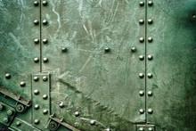 Abstract Green Industrial Meta...
