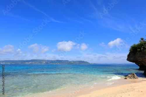 Staande foto Oceanië 沖縄の美しい海とさわやかな空