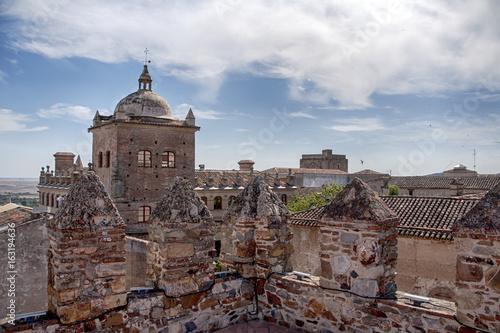 ciudades medievales en España, Cáceres en la comunidad de Extremadura