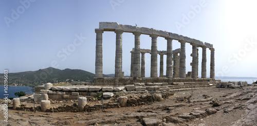 In de dag Bedehuis Temple of Poseidon