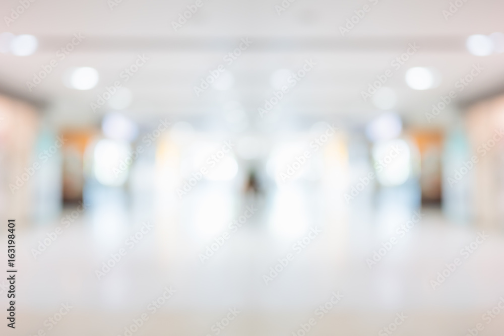 Fototapety, obrazy: Abstract blur beautiful hospital and clinic interior for background