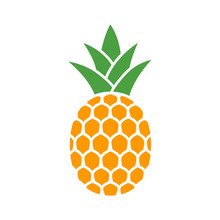 Pineapple Tropical Fruit With ...