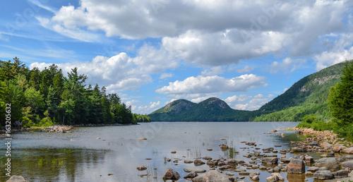 Acadia lake Canvas Print