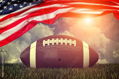 Fototapeta american football ball obraz
