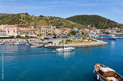 Foto op Plexiglas Cyprus Porto di Acciaroli nel Parco Nazionale del Cilento.