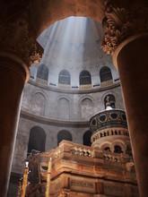 Inside A Jerusalem Church