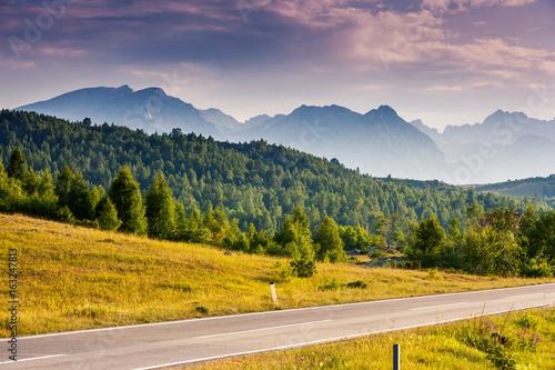 Foto auf Leinwand Honig Location famous place National park Durmitor, Balkans. Village Zabljak, Montenegro, Europe. Beauty world.