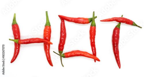 Staande foto Hot chili peppers hot