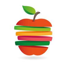 Fresh Fruit Slices, Colorful V...