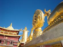 Tibetan Temple Top